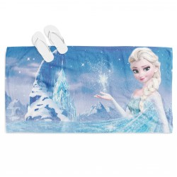 Детска кърпа за плаж Замръзналото кралство - Frozen