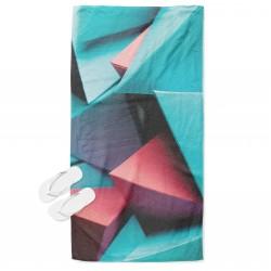 Арт хавлия за плаж Геометрични форми - Geometric Forms