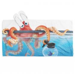 Детска плажна кърпа Ханк от Търсенето на Дори - Hank Fiding Dory