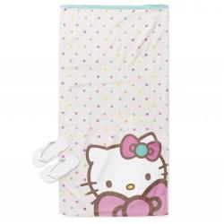 Детска плажна кърпа Хелоу Кити - Hello Kitty
