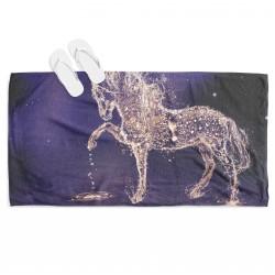 Ефектна кърпа за плаж Кон - Horse