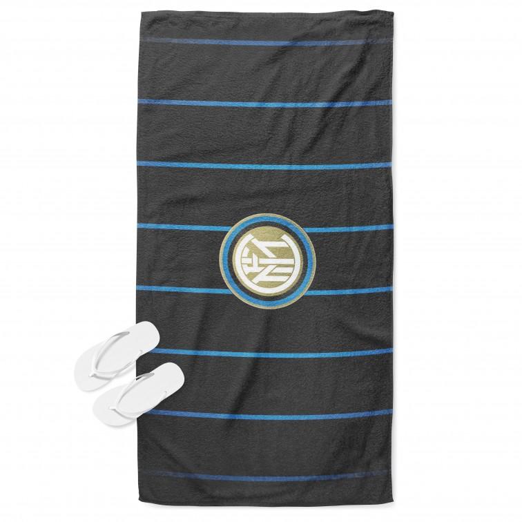 Фенска футболна кърпа за плаж Интер - Inter