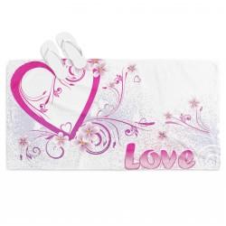 Плажна кърпа Истинска любов - Real Love