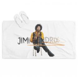 3Д хавлия за плаж Джими Хендрикс - Jimi Hendrix