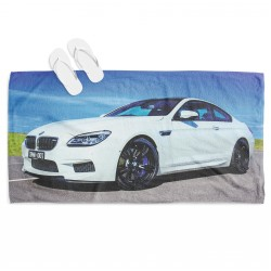 Плажна кърпа с кола БМВ - BMW
