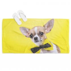 Сладурска кърпа за плаж куче Чихуахуа - Dog Chihuahua