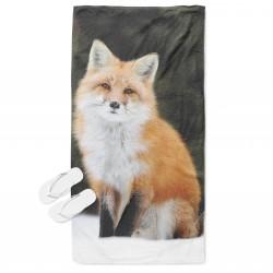 Българска кърпа за плаж Лисица - Fox