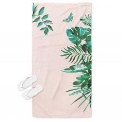 Уникална кърпа за плаж Листа - Leaves