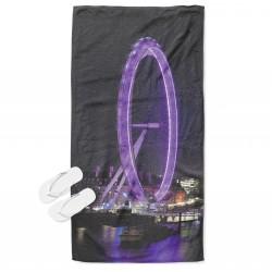 Уникална кърпа за плаж Лондонското око - London Eye
