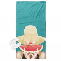 Ефектна плажна кърпа Лятно изкушение - Summer Tamptation