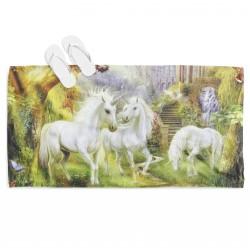Приказна кърпа за плаж Магичен еднорог - Magic Unicorn