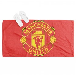 Хавлиена плажна кърпа Манчестър Юнайтед - Manchester United