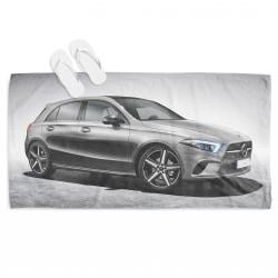 Кърпа за плаж с кола Мерцедес А Клас - Mercedes A Class