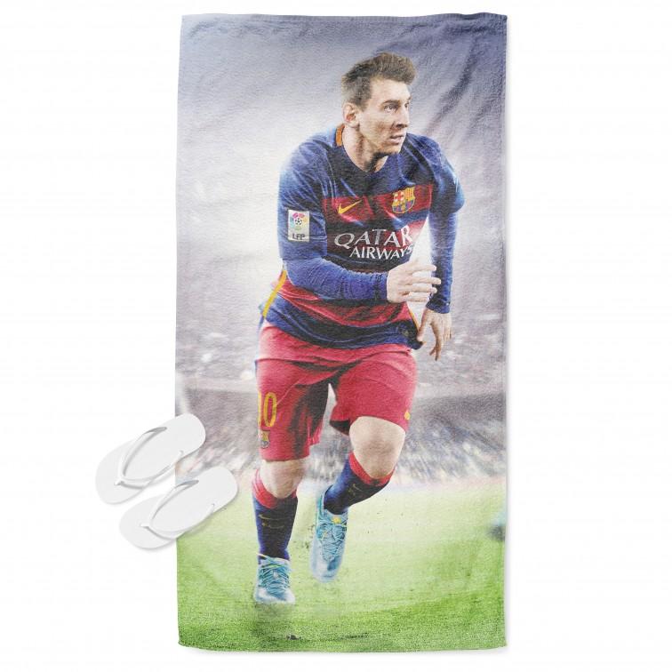 Футболна хавлия за плаж Меси - Leo Messi