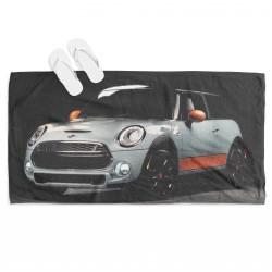 Кърпа за плаж с кола Мини Купър - Mini Cooper