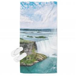 Кърпа за плаж Ниагарски водопад - Niagara Fall