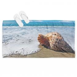 Плажна хавлия Рапан на плажа - Beach
