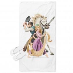 Плажна кърпа за деца Рапунцел - Rapunzel