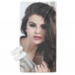 Модерна кърпа за плаж Селена Гомез - Selena Gomez