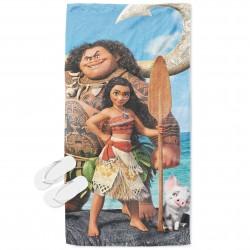 Плажна кърпа за деца Смелата Ваяна - Moana