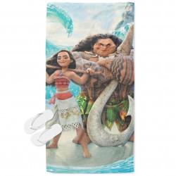 Детска хавлия за плаж Смелата Ваяна - Moana