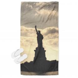 Кърпа за плаж Стотуята на Свободата - Statue of Liberty