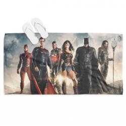 Ефектна плажна кърпа Супер герои - Superheroes