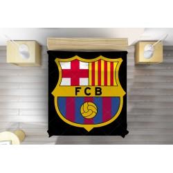Футболна кувертюра за легло Барселона - Barcelona Black