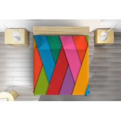 Свежо шалте Цветни ивици - Colorful stripes