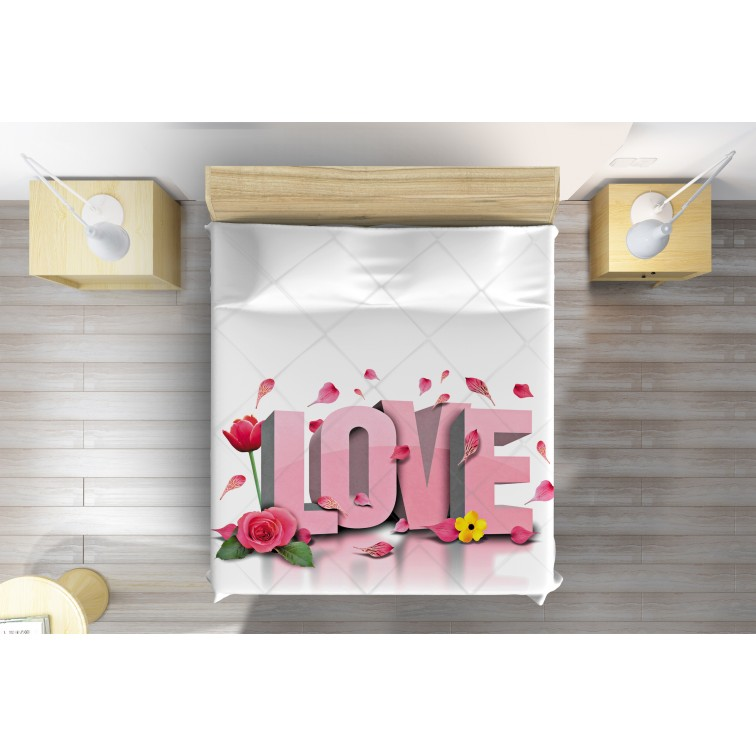 3D романтично шалте Да живее любовта - Long Live Love