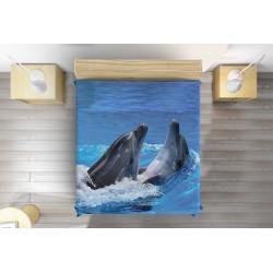 Шалте за легло Делфини - Two Dolphins