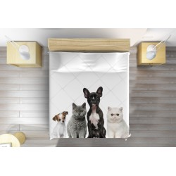 Кувертюра за легло ДОмашни любимци - Pets