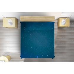 Интересна кувертюра Изкрящо синьо - Glitter blue