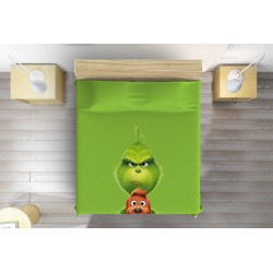 Кувертюра за детско легло Гринч - Grinch