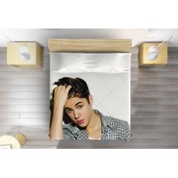 3D шалте за легло Джъстин Бийбър - Justin Bieber Young