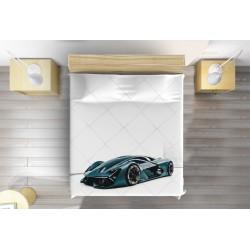 Кувертюра с кола Ламборджини - Lamborghini White Background