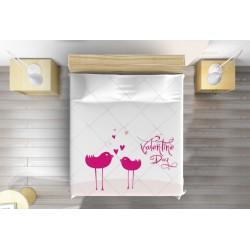Романтично покривало за легло Любовна песен - Love Song