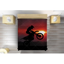Шалте за легло Мотор по залез - Motocycle Sunset