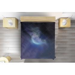 Арт кувертюра за легло Мъглявина - Sky Nebula