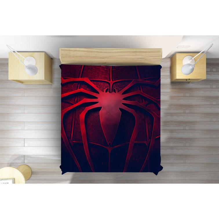 Покривало за легло с паяк - Spiderman logo