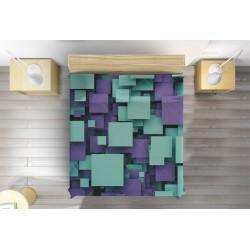 Уникално 3D шалте Квадратни кубове - Squares cubes
