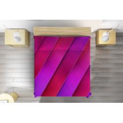 Свежо шалте Ивици в розово - Striple lines pink