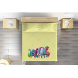 Шалте за детско легло Тролчета - Trolls Animation