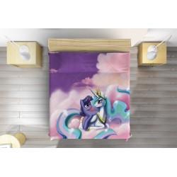 Кувертюра за детско легло Еднорози - Fairy Unicorn