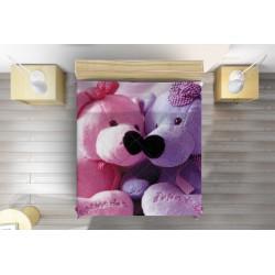 Сладка кувертюра Влюбени плюшени мечета - Teddy Bears