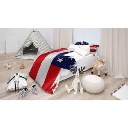Детско спално бельо Американско знаме - American flag