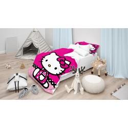 Детски чаршафи Хелоу Кити - Hello Kitty Pink