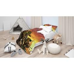 Детски спални чаршафи Костенурките нинджа - Ninja Turtles