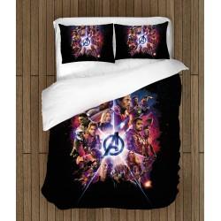 Спално бельо със завивка The Avengers