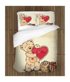 Спално бельо Свети Валентин